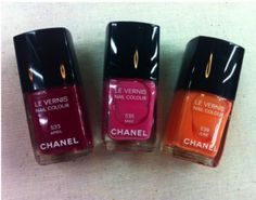 Chanel Spring 2012 Polishes - April, May and June. Refreshing burst of color, no?