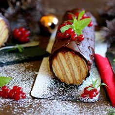 Tronco de Galletas para Navidad...