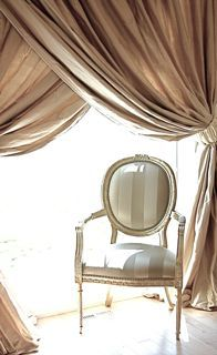 love these colors and chair - I think this is going to be my master bedroom and bath base color.