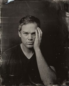 Michael c Hall in nineteenth century style photos.  #Sundance