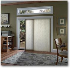 Vertiglide Shade For Sliding Glass Doors