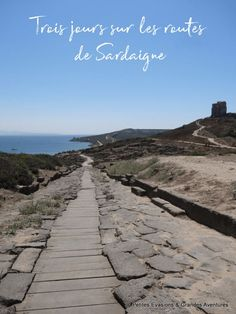 Cinque Terre, Cagliari, Road Trip, Routes, Voyage Europe, Sardinia, Destinations, Sidewalk, Travel