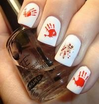 Chloes Nails: A potential Halloween Mani.Voodoo Running From My Magic.Yep, Im a dork Halloween Nail Designs, Halloween Nail Art, Girl Halloween, Halloween Ideas, Halloween Party, Fancy Nails, Trendy Nails, Chloe Nails, Manicure Y Pedicure