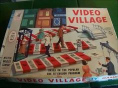 Video Village 1960's Vintage Board Game