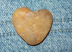 Nature made heart shaped rock.