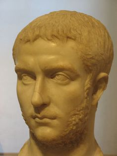 """Gallienus was the 41st Roman Emperor with his father Valerian from 253 to 260, and alone from 260 to 268. His reign saw the invasion of Germanic tribes and the constant revolt of various governors and generals (some of whom declared themselves emperor). He was assassinated while laying siege to Milan. Interestingly, he was the last emperor to call himself """"Printeps,"""" or First Citizen."""
