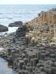 Giant's Causeway- coolest place I've seen on God's green earth- thank you for planning that incredible trip Claire Reid