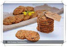 galletas de zanahoria -  mi dulce tentación