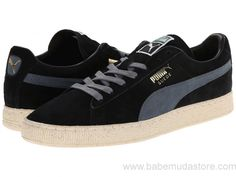 2017 Chaussures Hommes - Puma Suede Classic Black - Sneakers & Athlétique Chaussures | Puma France PSQ21005216