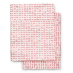 Marquise Stone Print Cot Sheet Set in Petal Pink