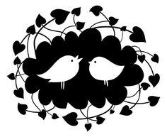 Folk Birds PNG