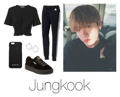 """Day out with Jungkook"" by infires-jhope on Polyvore featuring adidas, T By Alexander Wang, Puma, Nordstrom and MICHAEL Michael Kors"