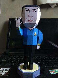 Star Trek - Spock Ver.4 Free Papercraft Download - http://www.papercraftsquare.com/star-trek-spock-ver-4-free-papercraft-download.html#Spock, #StarTrek