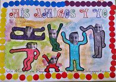 Continuamos con nuestro proyecto sobre Keith Haring . En este caso trabajamos este cuadro de siluetas tan divertido. Para hacerlo tuvimo...