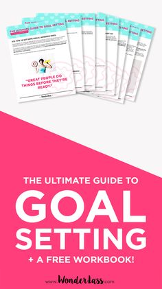 Click through for the Ultimate Guide to Goal Setting (plus a FREE workbook!) I created my own business over 5 years ago and have been working it full-time ever since! And how did it all start? With a simple, written goal.