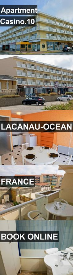 Apartment Casino.10 in Lacanau-Ocean, France. For more information, photos, reviews and best prices please follow the link. #France #Lacanau-Ocean #travel #vacation #apartment