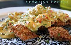 Crawfish Ravioli