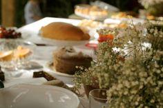 Uma bela mesa de café da manhã para o dia das Mães