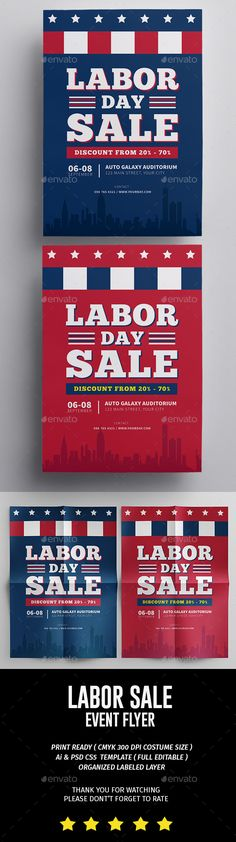 Labor Day Flyer  Labour Font Logo And Fonts
