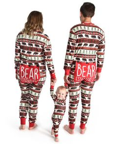 9093f79714 Personalized Pajamas Matching Family Christmas Pjs