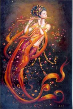 Dancing Goddess by Zeng Hao