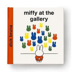 Miffy thinks: 'Later on, when I grow up, I want to be an artist too.' A fantastic way to introduce young children to the world of art.