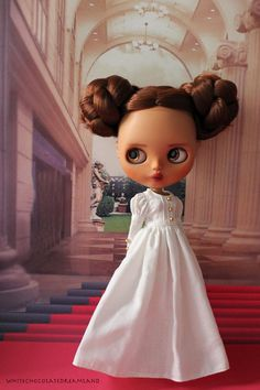 OOAK Custom Blythe Doll #16 - Leia by WhiteChocolateDreamland