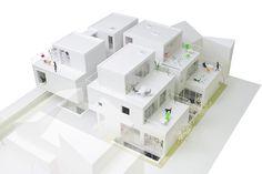 【建築】「長屋式集合住宅」飯田善彦建築工房の八雲コートハウス ~ 建設通信新聞の公式記事ブログ