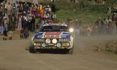 33º MARLBORO SAFARY RALLY 1985  3º CLASIFICADO  M.KIRKLAND - A.LEVITAN  NISSAN 240 RS