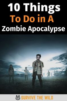 We've done the research to find out the 10 most helpful things that you can plan for and have prepared for a zombie apocalypse. Best to be prepared! Zombie Apocalypse Movie, Zombie Apocalypse Survival, Surviving In The Wild, That One Friend, How To Find Out, How To Plan, People, Projects, Movie Posters