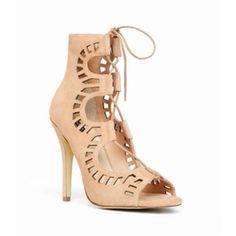 Shoemint lace up heels New! Shoemint Shoes Heels