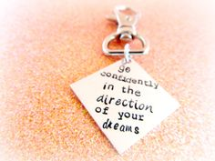 """""""Go confidently in the direction of your dreams! Live the life you've imagined."""" – Henry David Thoreau"""