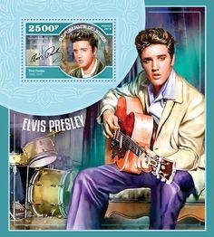 Elvis Postage Stamp | Issue of Niger postage stamps 2014-11-30 | Niger postage stamps