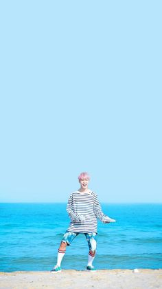 Jimin at the set of Spring Day! Bts Spring Day Wallpaper, Bts Wallpaper, Bts Jungkook, Taehyung, K Pop, Bts Ynwa, Light Blue Aesthetic, Rap, Bts Lockscreen