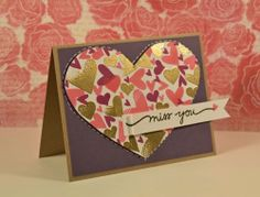 Card by SPARKS DT Trisha Theophilopoulos PS stamp sets: Sweet Hearts, Scripty Sayings