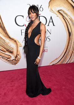 Naomi Campbell in Brandon Maxwell and Lorraine Schwartz - 2016 CFDA Fashion Awards - June 6, 2016