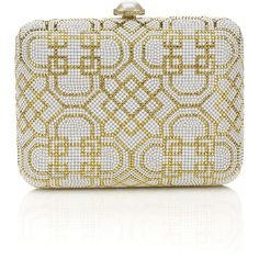 Judith Leiber: Worth Avenue Clutch ($4,495) ❤ liked on Polyvore