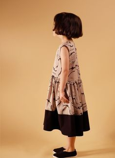 Wolf and Rita Sofia Dress in This Is Now Print