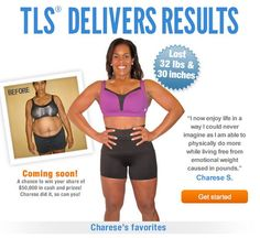 Transformation Wednesday: How losing weight changed Charese's life…  Website: http://www.tlsslim.com/net2malls