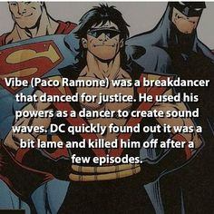 And know he's back in cw's the flash as cisco ramone