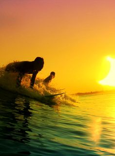 trying out #surfing.