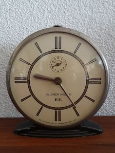 "Very Rare Vintage LUX ""Slumber Minder"" Wind-Up Alarm Clock – Be never late again Alarm Clock, Unique Gifts, Etsy, Vintage, Cool Stuff, Wall, Home Decor, Alarm Clocks, Handcrafted Gifts"