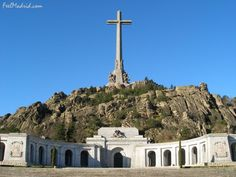 Valley of the Fallen is the monument to the casualties of the Spanish Civil War (1936-1939).
