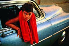 Cuban boy, by David Alan Harvey (Magnum) William Harvey, David Alan Harvey, Life Photography, Street Photography, Portrait Photography, Reportage Photography, Colour Photography, Inspiring Photography, Photography Magazine