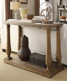 Look what I found on #zulily! Batesburg Sofa Table by HomeBelle #zulilyfinds
