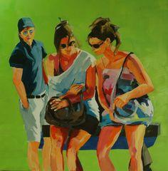 Curiosity Bubble 2014 Oil/Canvas 80 x 80 cm Curiosity, Bubbles, Scene, Oil, Canvas, Painting, Tela, Painting Art, Canvases