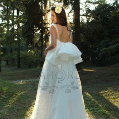 ウェディングドレス_ウエディングドレス_二次会ドレス_エンパイア_結婚式_花嫁_海外挙式 (w1111)|ROOM