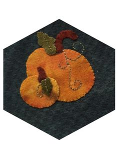 OKQW Stitching Society - Wool Applique and Embroidery