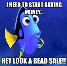 Love it! #beading#humor