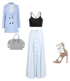 """""""Untitled #120"""" by aayushis on Polyvore featuring Givenchy, Pierre Balmain and Stuart Weitzman"""